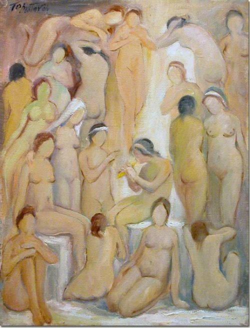 Art - Nude by Moonlight - Claire de Lune