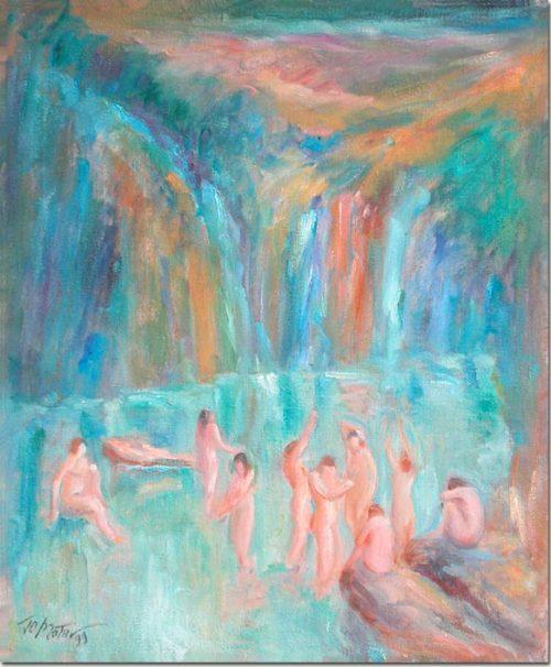 Art - Bathers - Les baigneuses