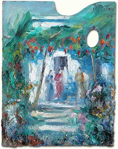Under the shade of the Vine - A l'ombre de la Vigne