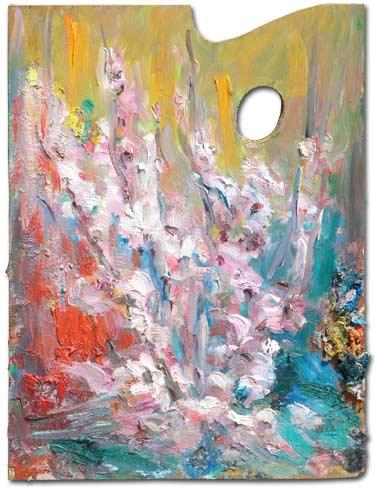 Rose on the Almond Tree - Rose de l'amandier
