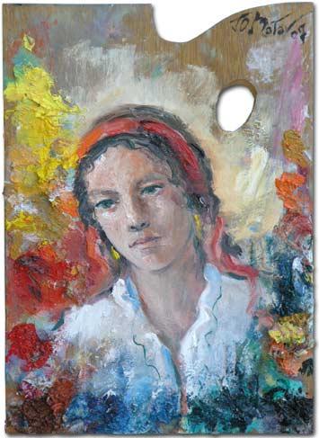 Art palette - Rebecca