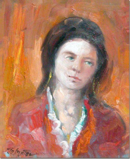 Portrait - Suzanne