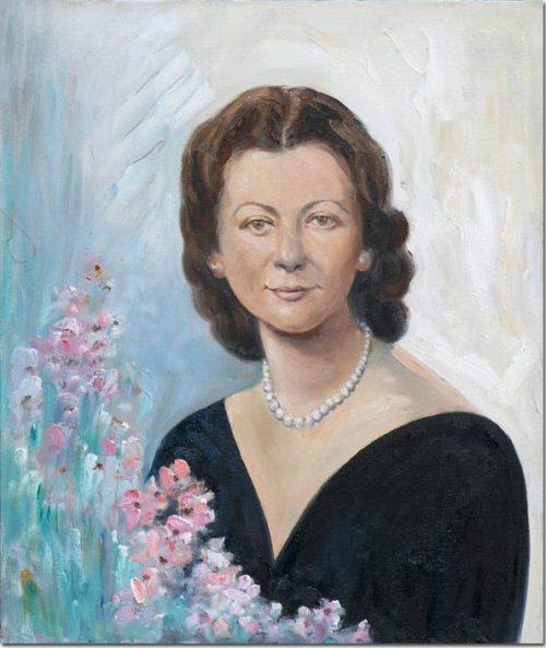 Lady with Almond Flowers - La dame aux fleurs d'amandiers