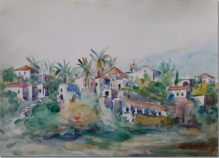 The Town of Byblos - La Ville de Byblos