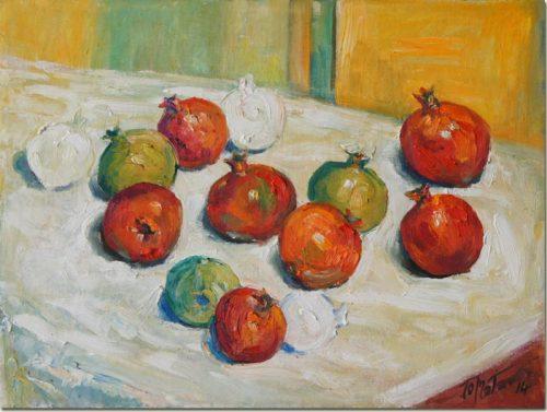 White Pomegranates - Les Grenades Blanches