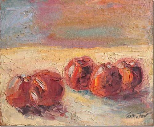 Red Apples - Pommes Rouges