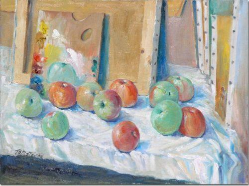 Apples with palette - Les Pommes à la palette