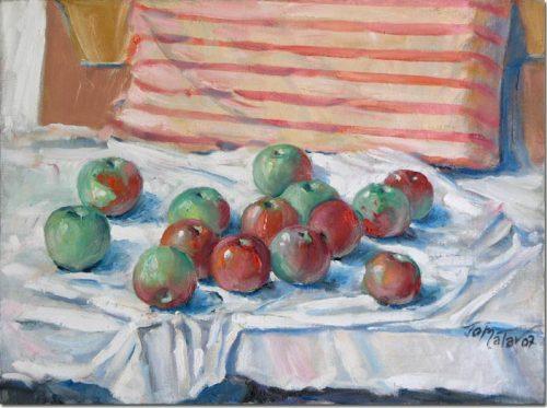 Apples, Still Life - Nature morte aux pommes