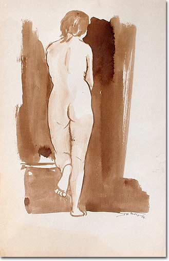 Painting Rosita