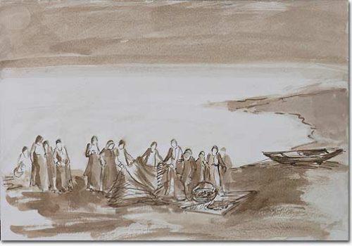 The Fishermen - Les pêcheurs