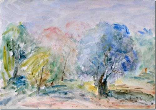 Clump of Trees - Bosquet