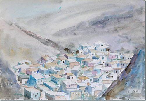 View of Maaloula - Vue de Maaloula